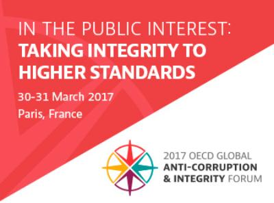 2017 Integrity Forum callout 350x260 400x297 - The FiTI as a knowledge partner of 2017 OECD Global Anti-Corruption and Integrity Forum
