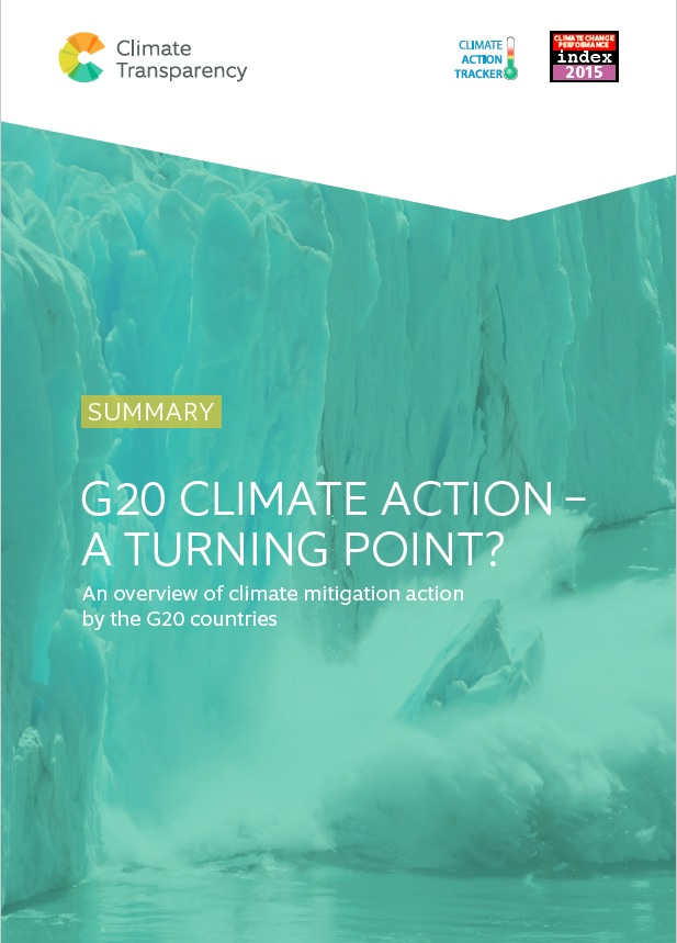 CTCover2015 - G20 Climate Action 2015 – A Turning Point?