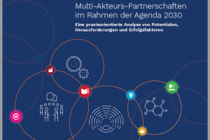 "Studie MAP im Rahmen der Agenda 2030 300x200 - Study ""Multi-Stakeholder-Partnerships for the Agenda 2030"" published"