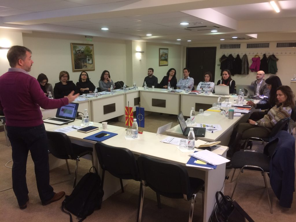 file1 1024x768 - Train-the-trainers workshop for anti-corruption professionals in Skopje