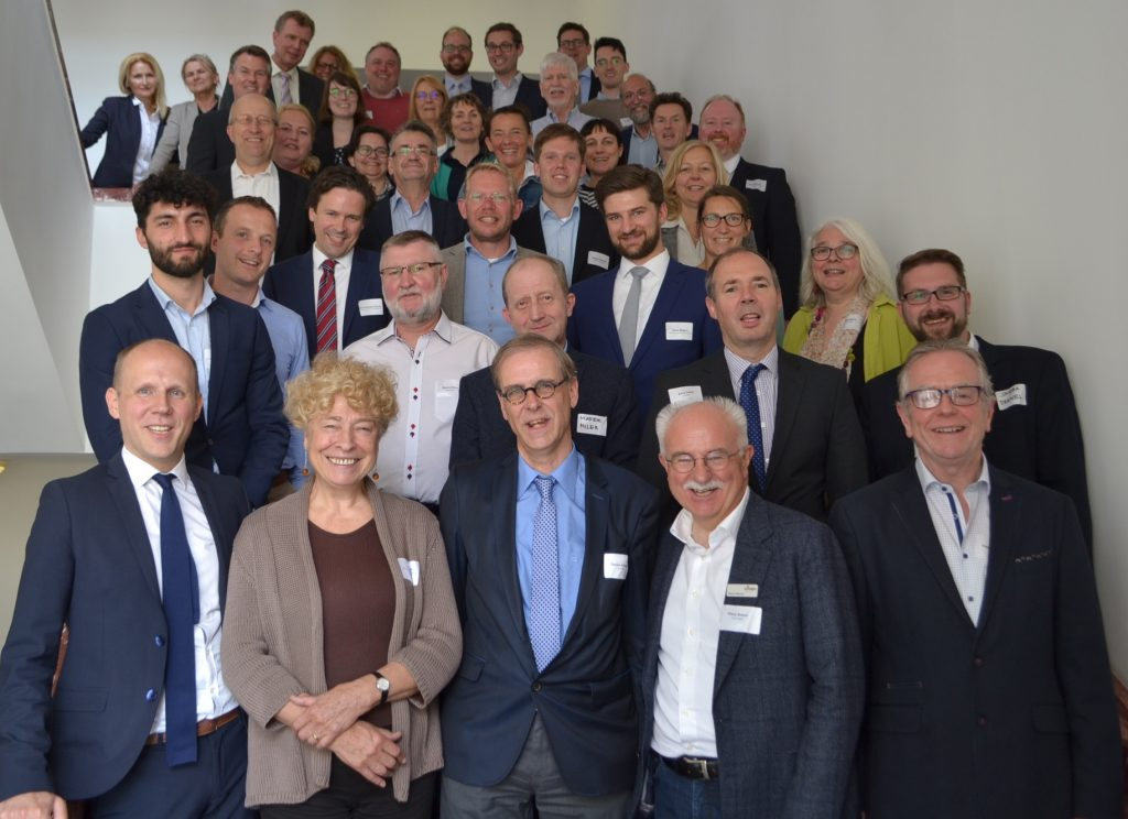 Auftakt EWPartnerstadt Gruppe 1024x744 - Strong network for the decentralized energy transition in Europe