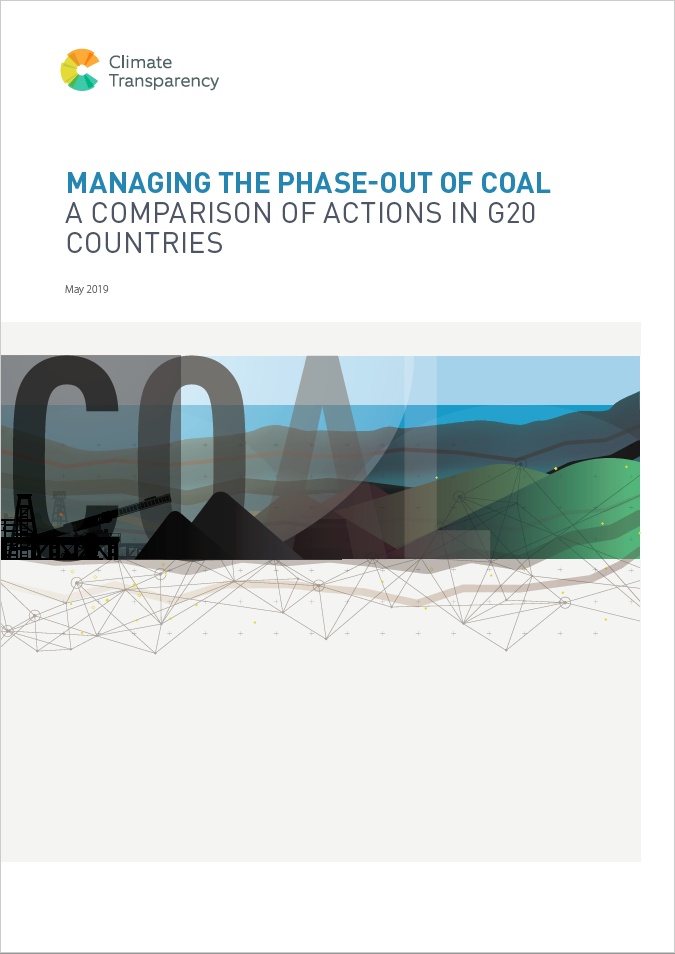 Coal Brief Cover - Managing the phase-out of coal: a comparison of actions in G20 countries