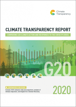 CLIMATE TRANSPARENCY REPORT cover 265x375 - Climate Transparency Report 2020