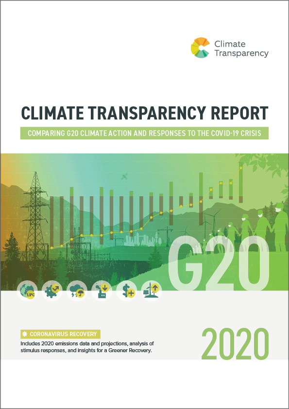 CLIMATE TRANSPARENCY REPORT cover - Climate Transparency Report 2020