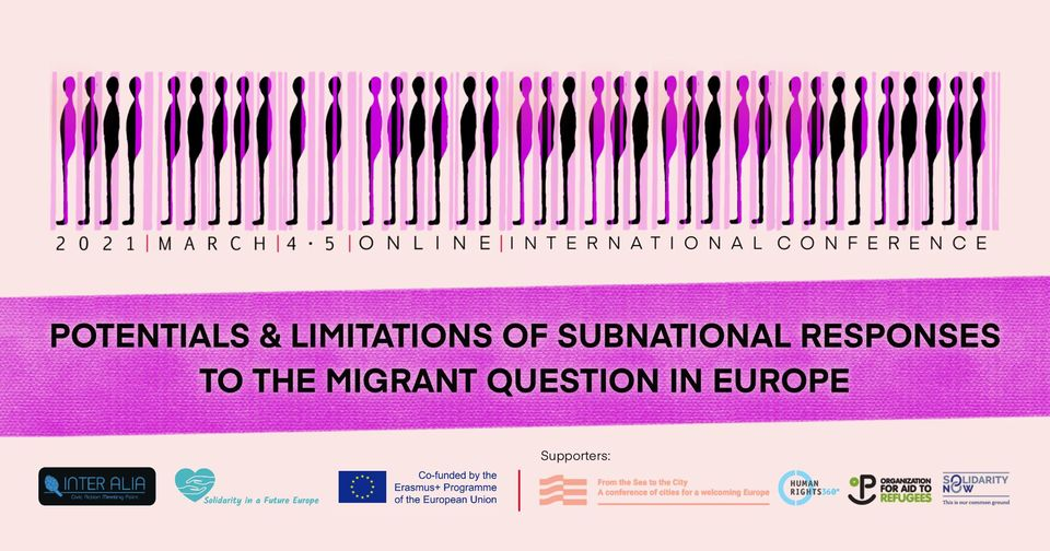 """Athens Panel Maerz Bild - Online-Konferenz """"Potentials and Limitations of Subnational Responses to the Migrant Question in Europe"""""""