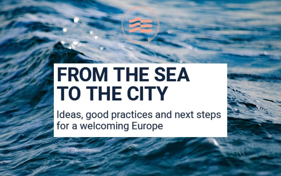 Facebook post 1 edited - New publication out: Ideas & Best practices for a welcoming Europe