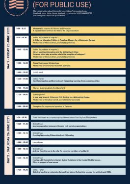 FS2C programma DEF PUBLIC 265x375 - Programme - From the Sea to the City: a conference of cities for a Welcoming Europe