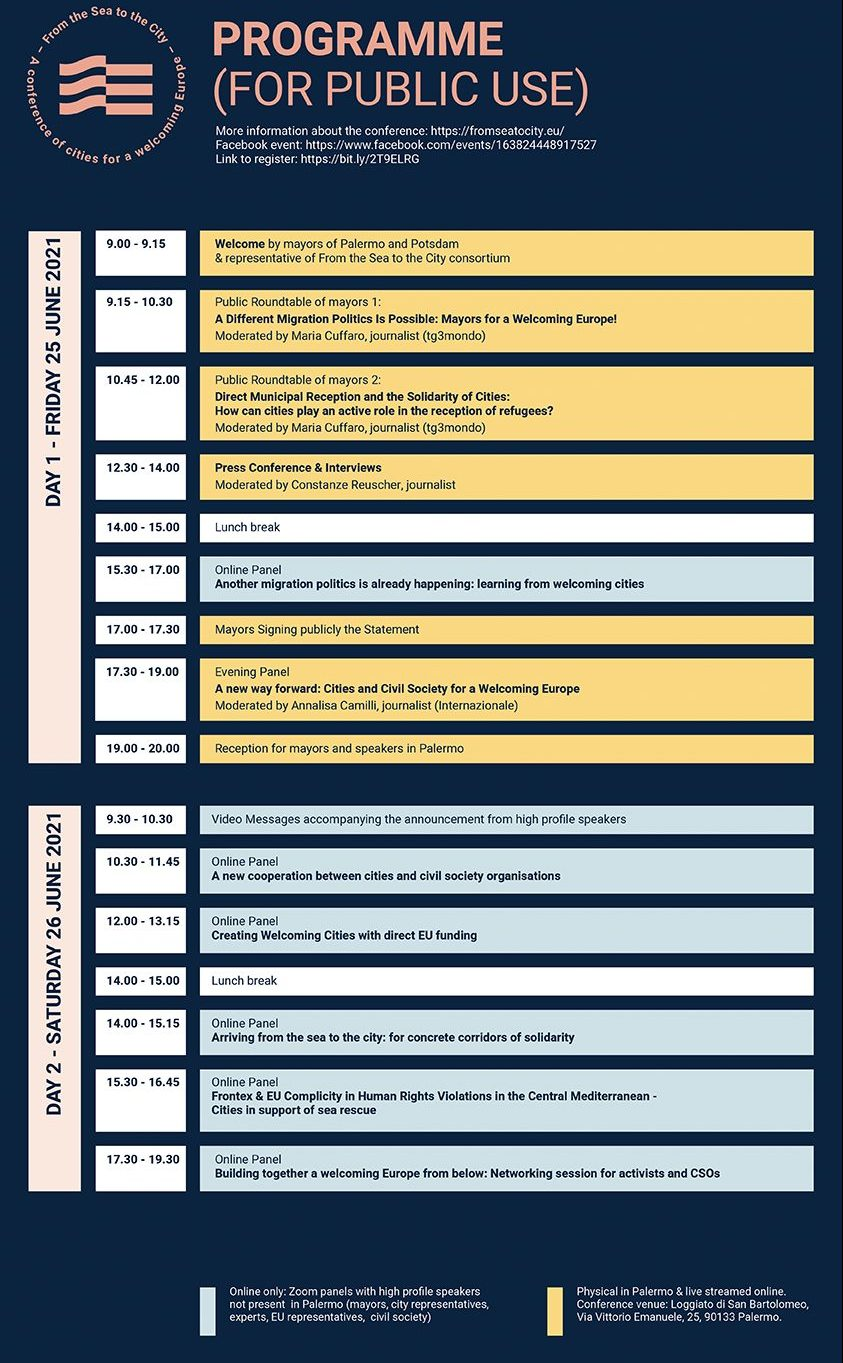 FS2C programma DEF PUBLIC e1623235981111 - Programme - From the Sea to the City: a conference of cities for a Welcoming Europe