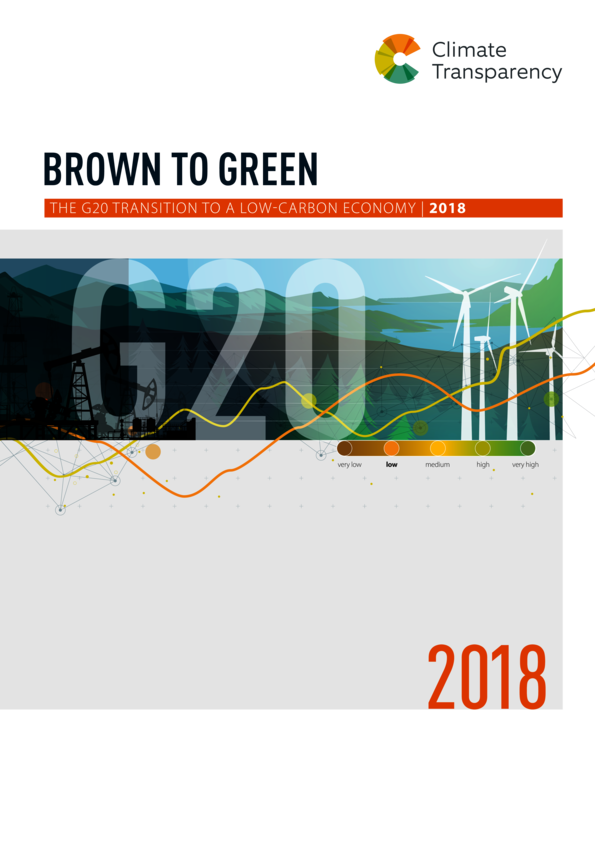 Brown to Green Report 2018: The G20 transition to a low-carbon economy